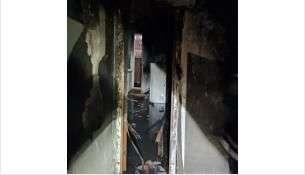 Общая площадь пожара составила 18 квадратных метров