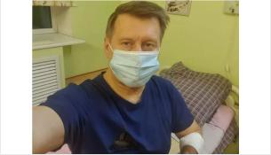 Анатолий Локоть в больнице с 20 октября