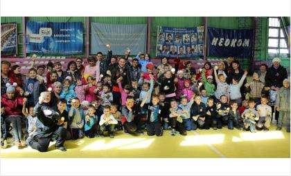 Большой детский спортивный праздник прошел в Бердске