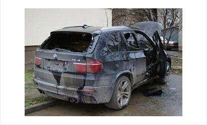 Автомобили очень часто горят по причине поджога