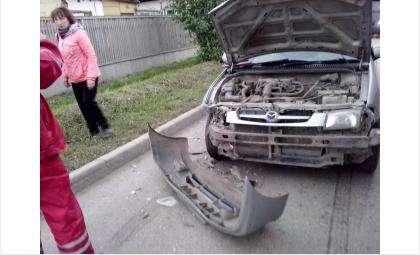 Автомобили получили существенные повреждения в ДТП