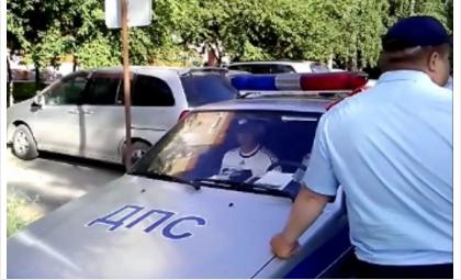 Пьяного водителя задержали в Бердске на утро после ЧМ по футболу