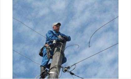 Из-за установки новых опор ЛЭП частный сектор Бердска будет без электричества