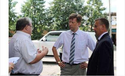 Вадим Головко (на фото в центре) посетил Бердск