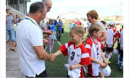 Юные футболисты Бердска
