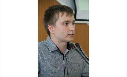 Руководитель экологического направления Совета молодёжи Игорь Карасенко