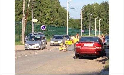 Ямочный ремонт дороги на ул. Попова должны сделать за один день - 11 августа 2014 года