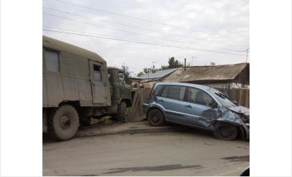 ДТП в военном городке Бердска