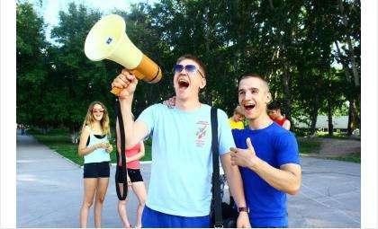 Участники всероссийского проекта «Беги за мной» - в Бердске