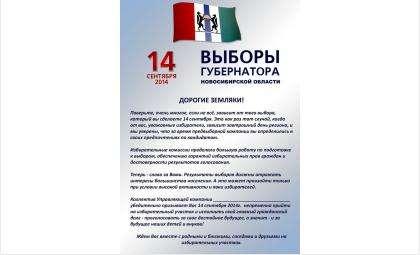 Жителей города Бердска призывают посетить выборы
