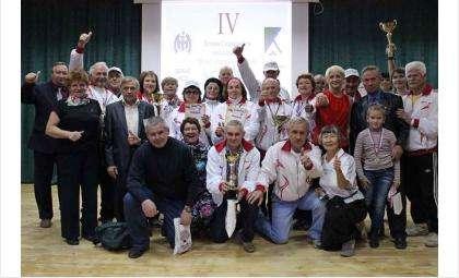 Команда бердских пенсионеров. Фото ОФКиС