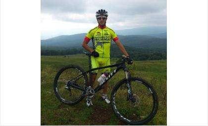 Бердский велогонщик Александр Стафилов