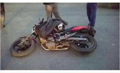 Очередное ДТП с участием мотоцикла случилось в Бердске