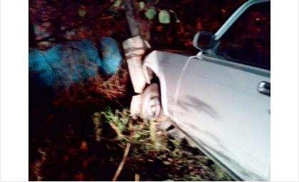 Пьяный водитель врезался в столб и пытался сбежать от полиции