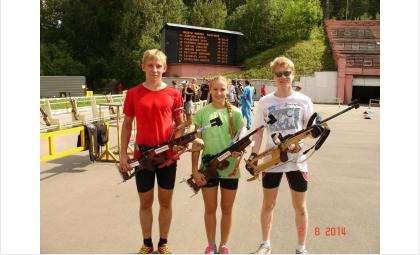 Биатлонисты из Бердска занимают призовые места в крупных соревнованиях