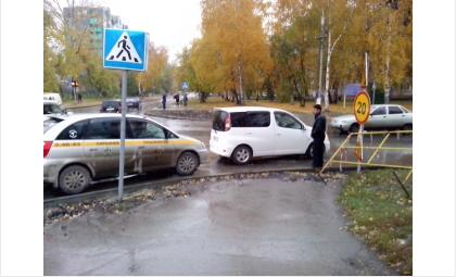 Столкновение произошло на пешеходном переходе