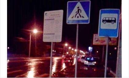 Пешеходы попадают в ДТП на пешеходных переходах в Бердске