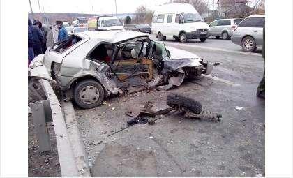 В ДТП на вшивой горке погиб человек. Фото Сергей Болдырев
