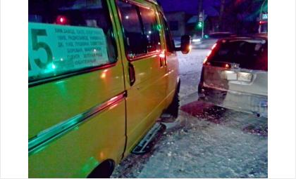 Пассажирские маршрутки в Бердске попадают в аварии