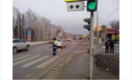 Смертельное ДТП у пос. Геологов на пешеходном переходе