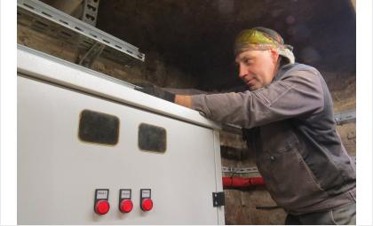 Завершается монтаж оборудования на ЦТП-27Б в Бердске