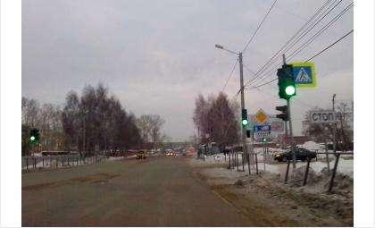 Перекресток в Бердске вводит в замешательство водителей
