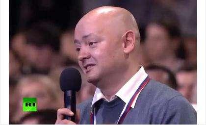 Корреспондент кировского издания «Репортёръ» Владимир Маматов