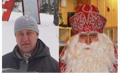 Андрей Балин работает Дедом Морозом в Великом Устюге уже 15 лет