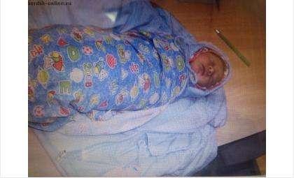 Полиция надеется, что опознать мать-кукушку, подкинувшую новорожденного мальчика, помогут вещи