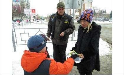 В Бердске проходят пропагандистские акции ГИБДД