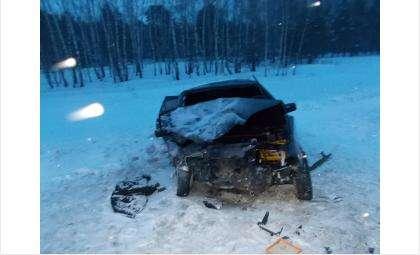 От автомобиля ВАЗ-2114 после ДТП ничего не осталось. Погиб пассажир на переднем сидении
