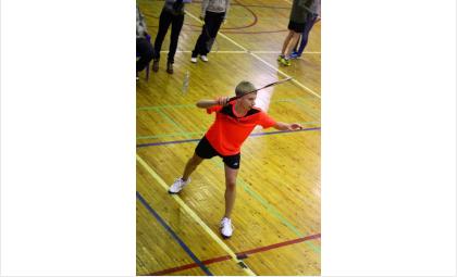 Захар Устинов на соревнованиях