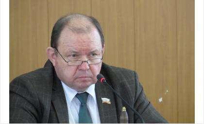 Валерий Бадьин, председатель горсовета Бердска