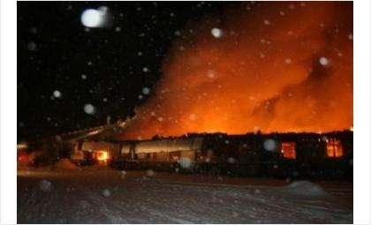 Так горела фабрика в 2012 году