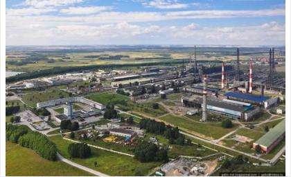 НовЭЗ — крупнейший в России электродный завод. Фото © Славы Степанова, gelio.livejournal.com