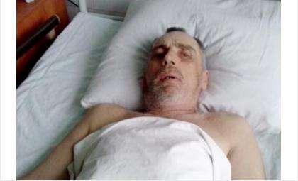 С 5 марта в ЦГБ Бердска лечат от инсульта неопознанного мужчину