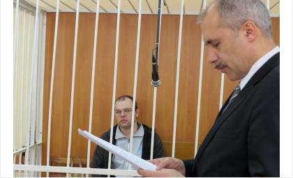 Адвокат Алексей Медведев выступает в защиту мэра Бердска Ильи Потапова