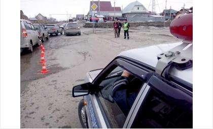 Сбита 80-летняя женщина, переходившая дорогу в неположенном месте