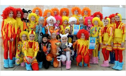 Юные танцоры из Бердска