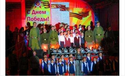 Концертная программа была поставлена бердскими артистами