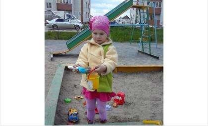 4-летнюю Риту Субботину покусали бродячие псы на детской площадке в Белокаменном