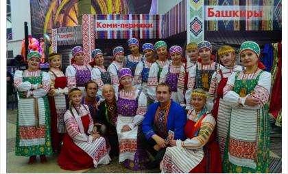 Ансамбль песни и танца «Лысваок» из Пермского края приветствует жителей Бердска