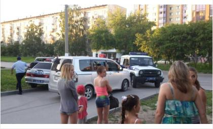 Погоня завершилась успешно: пьяного водителя задержали. Фото Денис Баталов