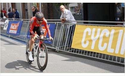 Велогонщик из Бердска Артем Овечкин стал лидером тура Словении