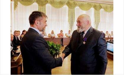 Воин-афганец Борис Ионов отметил  70-летие и получил высшую награду Российского Союза ветеранов Афганистана