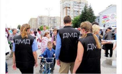 Участники ДМД патрулируют Бердск