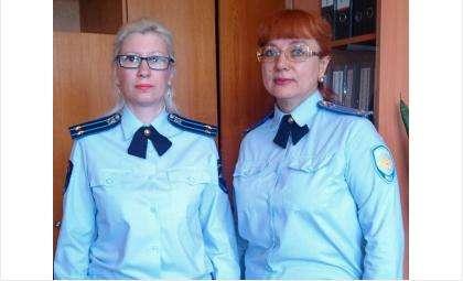 Наталья Теряева и Ирина Кожакина, подполковники юстиции, заместители начальника СО бердского отдела МВД
