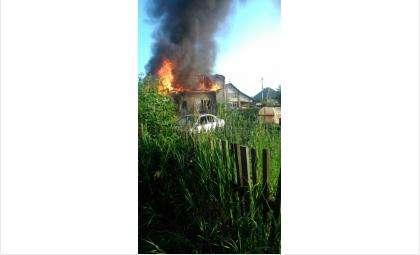 У семьи с маленьким ребенком сгорел в искитимском Агролесе