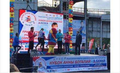 Кубок Олимпийской чемпионки Анны Богалий прошел на Новосибирском биатлонном комплексе