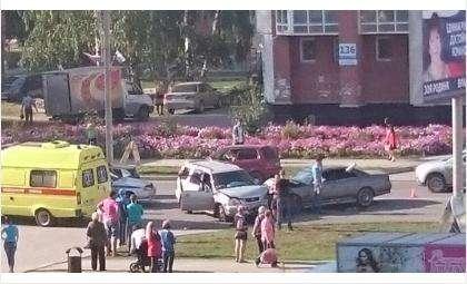 В ДТП пострадали два человека